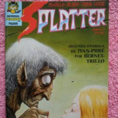 Cómics: SPLATTER 2 EDITORIAL MAKOKI 1991 IVAN PIIRE CARLOS TRILLO JORDI BERNET. Lote 46200903