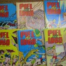 Cómics: COLOSOS DEL COMIC.- EDITORIAL VALENCIANA.- PIEL DE LOBO.- COMPLETA 20 NUMEROS.- EDICION 1980.- . Lote 46212371