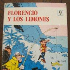 Cómics: FLORENCIO Y LOS LIMONES. COLECCION EPILOM 9, JAIMES LIBROS 1970. COMIC TAPA DURA. Lote 46219291