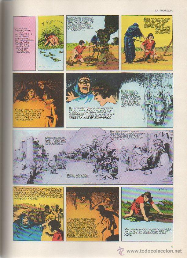 Cómics: Principe Valiente: La profecía. Harold R. Foster. Burulan, 1983 - Foto 2 - 46287807