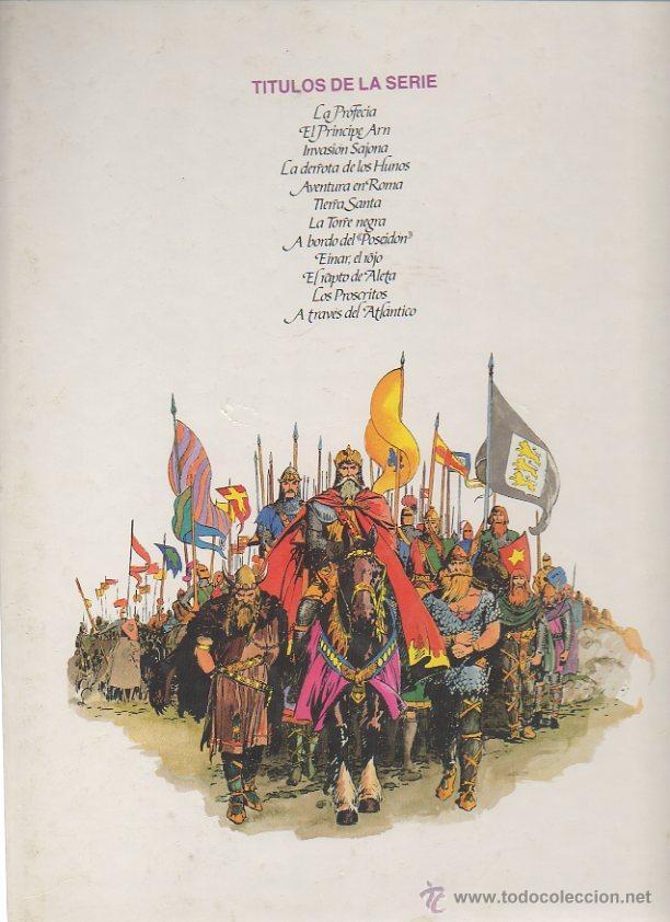 Cómics: Principe Valiente: La profecía. Harold R. Foster. Burulan, 1983 - Foto 3 - 46287807