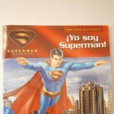 Cómics: YO SOY SUPERMAN PEGATINAS BRENT SUDDUTH GAVIOTA 2007. Lote 46301983