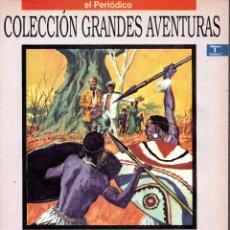 Cómics: . COLECCION GRANDES AVENTURAS EL PERIODICO VO2 Nº1 LOS HIJOS DEL CAPITAN GRANT. Lote 46335250