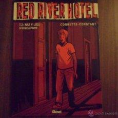 Cómics: RED RIVER HOTEL - TOMO 2 : NAT Y LISA - COLECCION VIÑETAS NEGRAS Nº 12 - GLENAT EN TAPAS DURAS. Lote 46371392
