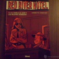 Cómics: RED RIVER HOTEL - TOMO 3 : EL DIABLO,EL ... - COLECCION VIÑETAS NEGRAS Nº 19 - GLENAT EN TAPAS DURAS. Lote 46371469