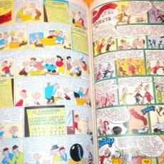 Cómics: HISTORIA DE LOS COMICS TOMOS 1 Y 2 ENCUADERNADOS EN UN VOLUMEN / TOUTAIN EDITOR Y JAVIER COMO. Lote 46402107