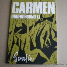 Cómics: CARMEN - UNDERGROUND II - SERAFIN - GISA EDICIONES 1975 // UNDERGROUND IBERICO. Lote 46486280