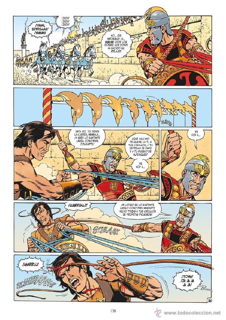 Cómics: Cómics. Ben Hur Integral - Mitton (Cartoné) DESCATALOGADO!!! OFERTA!!! - Foto 2 - 245313965