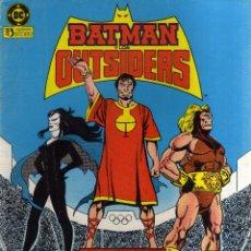 Cómics: BATMAN Y LOS OUTSIDERS (NÚMERO 11, ZINCO) - CJ153. Lote 46659724