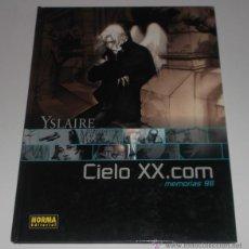 Cómics: YSLAIRE. CIELO XX.COM. MEMORIAS 98. RM67481. . Lote 46676584