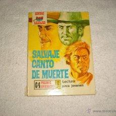 Cómics: SENDAS SALVAJES Nº 228. SALVAJE CANTO DE MUERTE. Lote 46772325