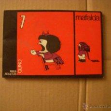 Cómics: MAFALDA Nº 7, EDITORIAL LUMEN. Lote 46876217