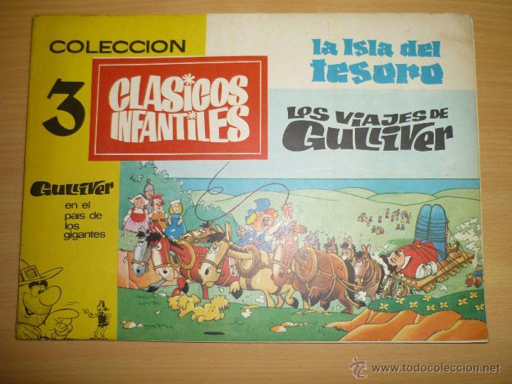 coleccion clasicos infantiles tomo con 3 cuento - Comprar Tebeos y ...