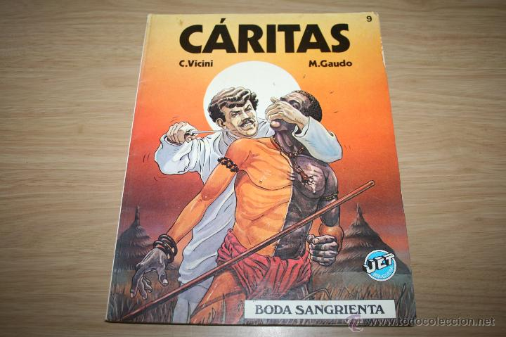 CÁRITAS 9 BODA SANGRIENTA DE VICINI Y GAUDO - JET BRUGUERA REF11 (Tebeos y Comics Pendientes de Clasificar)