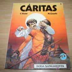 Cómics: CÁRITAS 9 BODA SANGRIENTA DE VICINI Y GAUDO - JET BRUGUERA REF11. Lote 47114178