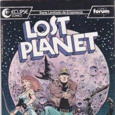 Cómics: LOST PLANET. SERIE DE 6. COMPLETA. ECLIPSE COMICS. Lote 47179339