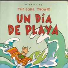 Cómics: UN DÍA EN LA PLAYA/MARISCAL; TRICICLE; JUANITO MEDIAVILLA. COBI. MASCOTA OLÍMPICA. CÓMIC ESPAÑOL. Lote 53726277