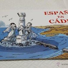 Cómics: ESPAÑA EN CÁDIZ - LAS CORTES Y LA CONSTITUCIÓN DE 1812 - 2 EJEMPLARES (COMIC + GUÍA DIDÁCTICA). Lote 47213207