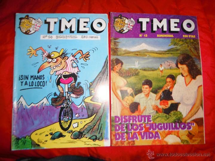 LOTE 2 TMEO NºS 14 Y 15 (Tebeos y Comics - Comics otras Editoriales Actuales)