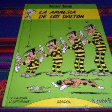 Cómics: LUCKY LUKE Nº 1 LA AMNESIA DE LOS DALTON. EDITORIAL ANAYA 1992 1ª EDICIÓN MUY BUEN ESTADO Y DIFÍCIL. Lote 47425738