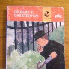 Cómics: HISTORIAS DEL PADRE BROWN DETECTIVE, POR GILBERT K. CHESTERTON - EDI. G, MISTRAL - CHILE - 1974. Lote 47479351