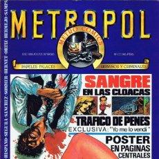 Cómics: METROPOL LOTE DE 9 Nº 1-2-3-4-5-6-7-8-10 (METROPOL 1983). Lote 47495193