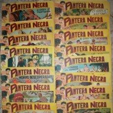 Cómics: PANTERA NEGRA (MAGA-5) 44 EJ. (DEL 1 AL 44) (LOTE). Lote 6506810