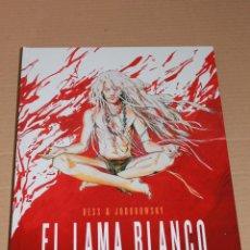 Cómics: EL LAMA BLANCO - BESS / JODOROWSKY - 24 X 35 CM, EN CARTONÉ - RESERVOIR BOOKS - NUEVO. Lote 65029658