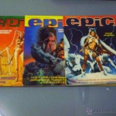 Cómics: EPIC. 3 NÚMEROS. COMPLETA.. Lote 47653497
