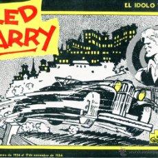 Cómics: RED BARRY EL IDOLO VERDE AÑO 1982 EDICIONES B.O.. Lote 47719032
