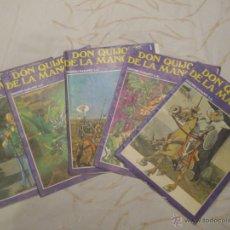 Cómics: 5 COMICS DE DON QUIJOTE AÑO 1972.. Lote 47734094