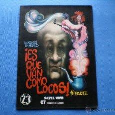 Cómics: EDICIONES LA TORRE ES QUE VAN COMO LOCOS COLOR 1982 COMIC DE VENTURA&NIETO PDELUXE. Lote 47786954