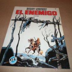 Cómics: DERIB, BUDDY LONGWAY, EL ENEMIGO, JET BRUGUERA, Nº 7. Lote 47791449