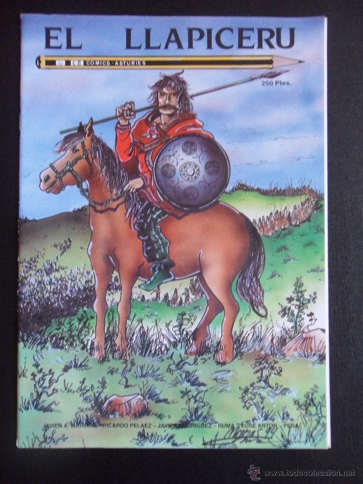 EL LLAPICERU. Nº 12. COMICS - ASTURIES. AÑO 1994. 30 PAGINAS. 21 X 30 CMS. 130 GRAMOS. (Tebeos y Comics - Comics otras Editoriales Actuales)