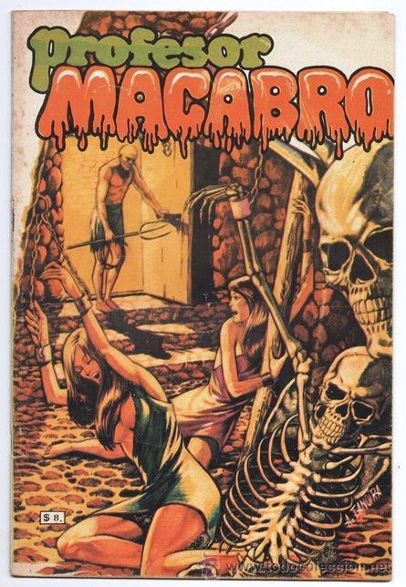 PROFESOR MACABRO # 11 MOPASA 1976 HOMBRE LOBO CIENCIA FICCION 32 PAG MUY BUEN ESTADO (Tebeos y Comics Pendientes de Clasificar)