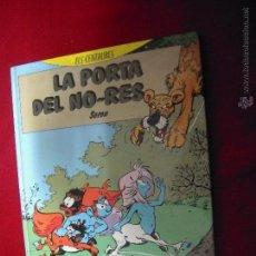 Cómics: ELS CENTAURES - LA PORTA DEL NO-RES - SERON - ED. BARCANOVA - CARTONE - EN CATALAN. Lote 47847966