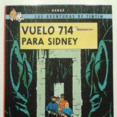 Cómics: LAS AVENTURAS DE TINTÍN: VUELO 714 PARA SIDNEY - HERGÉ - CASTERMAN 2001. Lote 269058673