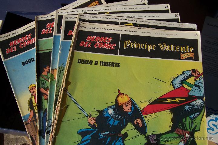 BURU LAN LOTE PRÍNCIPE VALIENTE (Tebeos y Comics - Buru-Lan - Principe Valiente)