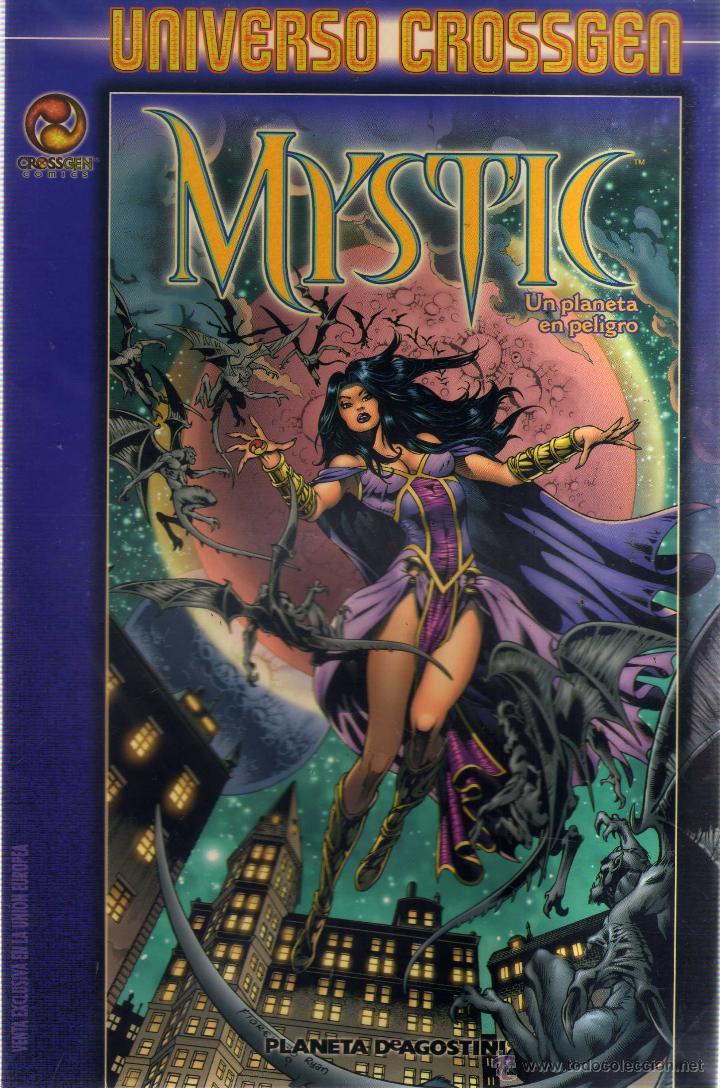 MYSTIC UN PLANETA EN PELIGRO - UNIVERSO CROSSGEN - CJ175 (Tebeos y Comics - Comics otras Editoriales Actuales)
