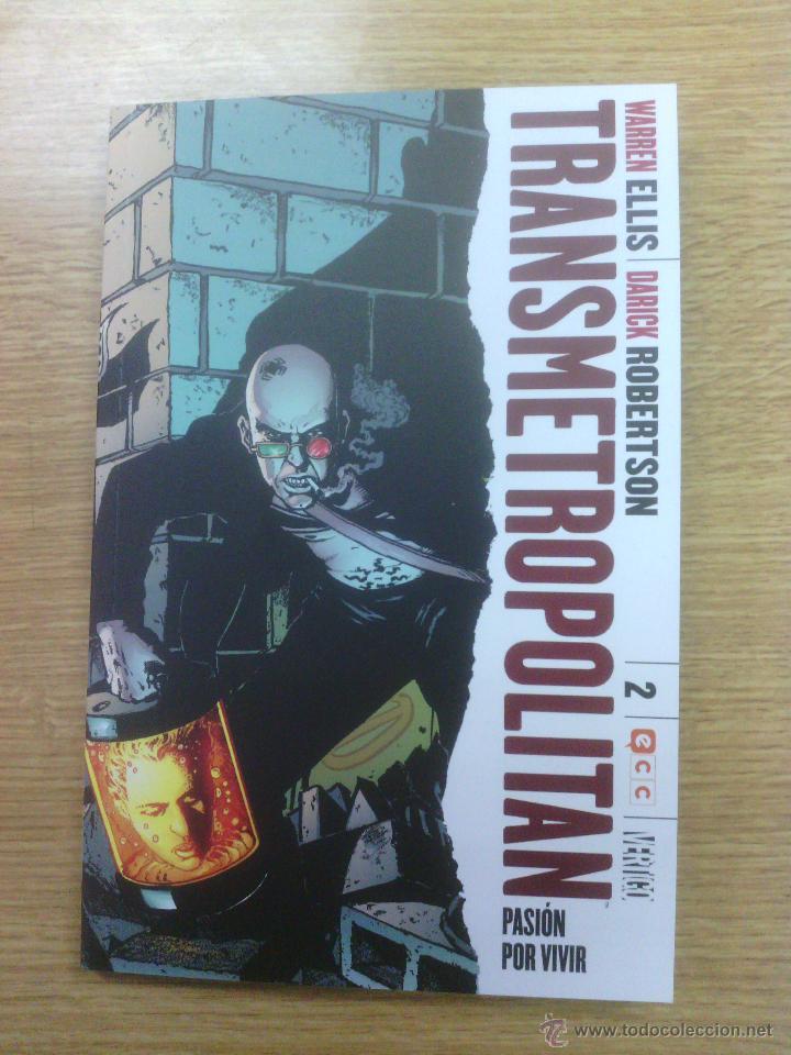 TRANSMETROPOLITAN #2 PASION POR VIVIR (ECC EDICIONES) (Tebeos y Comics - Comics otras Editoriales Actuales)