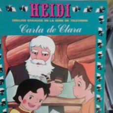Cómics: HEIDI CARTA DE CLARA. Lote 48002848