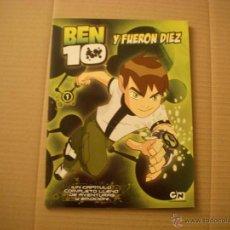 Cómics: BEN 10 Y FUERON DIEZ Nº 1, DE EL PAIS. Lote 48167405