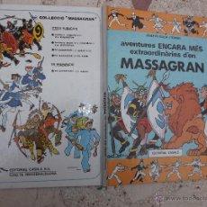 Cómics: AVENTURES ENCARA MES EXTRAORDINARIES D´EN MASSAGRAN , JOSEP M. FOLCH I TORRES EDITORIAL CASAL. Lote 48273519