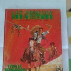 Cómics: LOS GRINGOS ¡VIVA LA REVOLUCION! 1980 TAPA DURA 48 PG EDICIONES JUNIOR GRIJALBO. Lote 48305037
