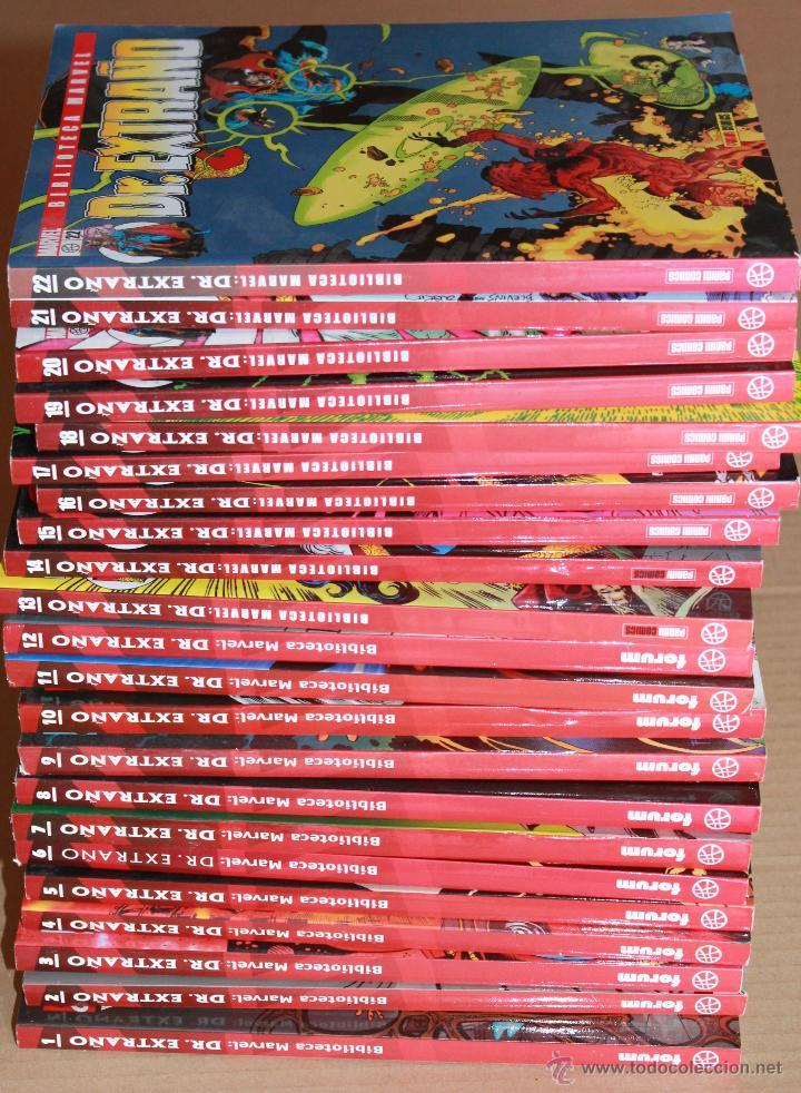 BIBLIOTECA MARVEL - DOCTOR EXTRAÑO - COMPLETA 22 EJEMPLARES - MUY BUEN ESTADO - DR. (Tebeos y Comics - Comics Colecciones y Lotes Avanzados)
