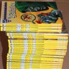 Cómics: BIBLIOTECA MARVEL LOS 4 FANTÁSTICOS 01 02 03 1..32 - COMPLETA 35 EJEMPLARES - Y SUELTOS - CUATRO. Lote 48309512