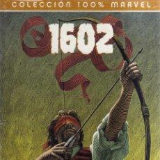 Cómics: 1602 - COMPLETA 2 NÚMEROS - COLECCIÓN 100 % MARVEL - GAIMAN, KUBERT - CJ14. Lote 48315111