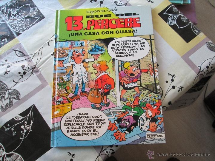 GRANDES DEL HUMOR Nº 8, 13 RUE DEL PERCEBE (Tebeos y Comics Pendientes de Clasificar)