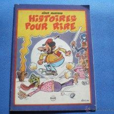 Cómics: ENTREPRISE NATIONALES DEL LIVRE HISTOIRES POUR RIRE 1984 COMICS EDITADO EN ARGELIA. PDELUXE. Lote 48339363