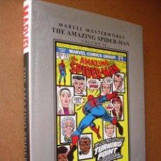 Cómics: MARVEL MASTERWORKS. THE AMAZING SPIDER-MAN. VOL. 13. 221 PP. TAPA DURA CON SOBRECUBIERTAS.. Lote 48380301